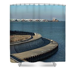 Round The Bend Shower Curtain