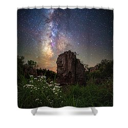 Shower Curtain featuring the photograph Royalty  by Aaron J Groen