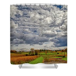 Shower Curtain featuring the photograph Rural New Paltz Hudson Valley Ny by Susan Candelario