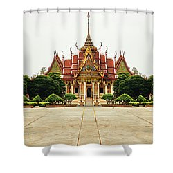 Sak Yant  Shower Curtain