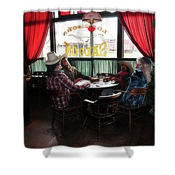 Saloon 1880 Town South Dakota Shower Curtain