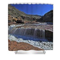 Salt Falls Shower Curtain
