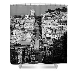 Shower Curtain featuring the photograph San Francisco by Stuart Manning