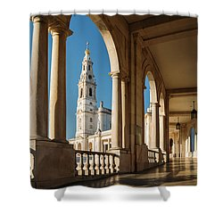 Sanctuary Of Fatima, Portugal Shower Curtain