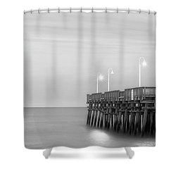 Sandbridge Minimalist Shower Curtain