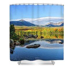Sandy Stream Pond Baxter Sp Maine Shower Curtain