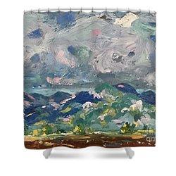 Sangre De Cristo Shower Curtain