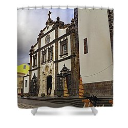 Shower Curtain featuring the photograph Sao Sebastiao by Tony Murtagh