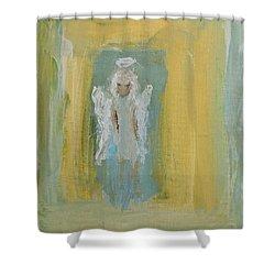 Sassy Frassy Angel Shower Curtain