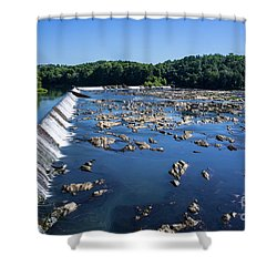 Savannah River Rapids - Augusta Ga 2 Shower Curtain