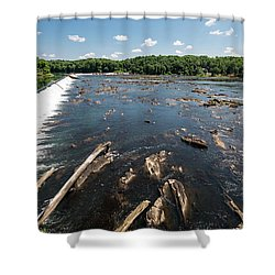Savannah River Rapids - Augusta Ga Shower Curtain