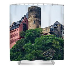 Schonburg Castle Shower Curtain