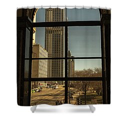 Sculpted View Shower Curtain