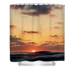 Sea Level Shower Curtain