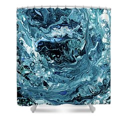 Sea Shadows Shower Curtain