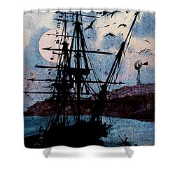Seafarer Shower Curtain