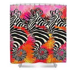Seazebra Digital11 Shower Curtain