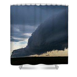 September Thunderstorms 003 Shower Curtain