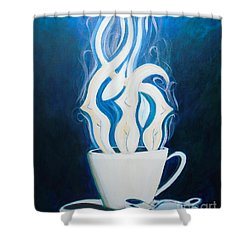 Sexy Java Shower Curtain