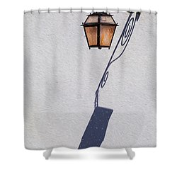 Shadow Lamp Shower Curtain