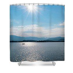 Shadow Mountain Lake Shower Curtain