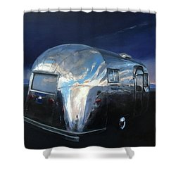 Shelter From The Approaching Storm Shower Curtain