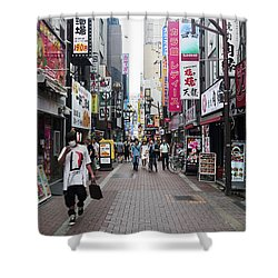 Shinjuku Shower Curtain