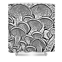 Shroom Zoom Shower Curtain