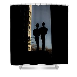 Sihlouette Shower Curtain