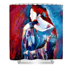 Hidden Thoughts Shower Curtain