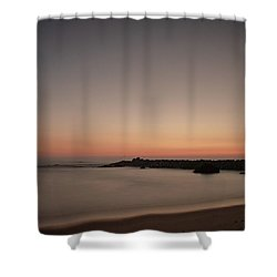 Shower Curtain featuring the photograph Silhouette by Bruno Rosa