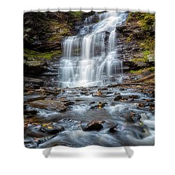 Silky Flow Shower Curtain