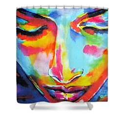 Sipapu Shower Curtain