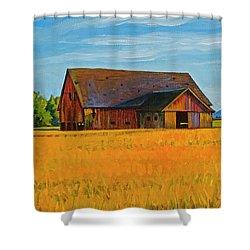 Skagit Valley Barn #9 Shower Curtain