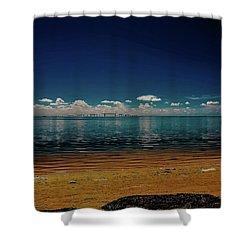 Sky Way Shower Curtain