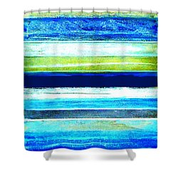 Skyscape Abstract Shower Curtain
