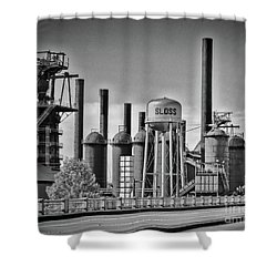 Sloss Furnaces Towers Shower Curtain