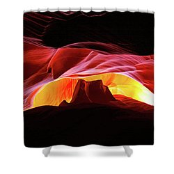 Slot Canyon Mountain Shower Curtain