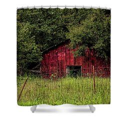 Small Barn 2 Shower Curtain