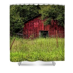 Small Barn 3 Shower Curtain
