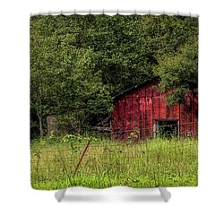 Small Barn Shower Curtain