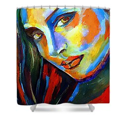 Smiling Eyes Shower Curtain