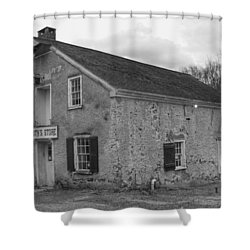 Smith's Store - Waterloo Village Shower Curtain