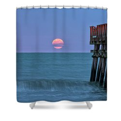 Snow Moon Shower Curtain