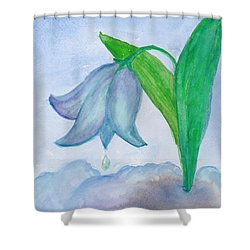 Snowdrop Shower Curtain