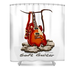 Soft Guitar - 3 Shower Curtain