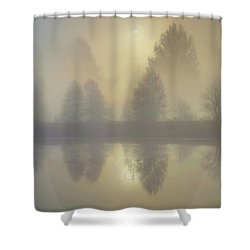 Softly Comes The Sun Shower Curtain