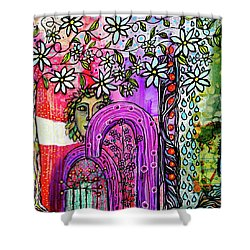 Something About Spring Shower Curtain