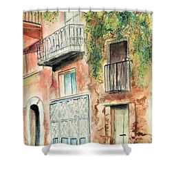 Sorrento Charm Shower Curtain