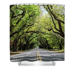 South Boundary Ave Aiken Sc Shower Curtain